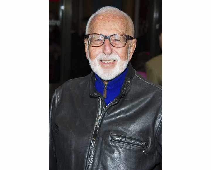 "FILE - In this March 12, 2015 file photo, Joe Masteroff attends the opening night performance of Broadway's ""On the Twentieth Century"" in New York. Masteroff, the Tony Award-winning story writer of the brilliant, edgy musical ""Cabaret"" and the touching, romantic ""She Loves Me,"" has died at age 98. The Roundabout Theatre Company, which produced recent revivals of his best-loved shows, said Masteroff died Friday, Sept. 28, 2018, at the Actors Fund Home in Englewood, N.J. (Photo by Charles Sykes/Invision/AP, File)"