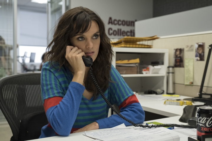 """This image released by Showtime shows Frankie Shaw as Bridgette Bird in a scene from """"SMILF."""" Shaw, who created the series, also directed several episodes of the show. (Colleen Hayes/Showtime via AP)"""