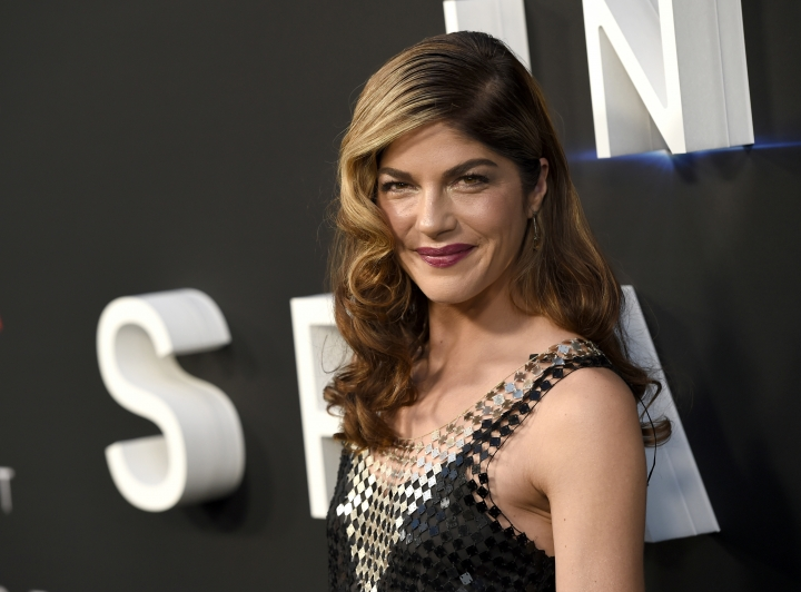 "FILE - In this April 9, 2018 file photo, Selma Blair arrives at the Los Angeles premiere of ""Lost in Space"" at the ArcLight Cinerama Dome. The film and TV actress has announced she is dealing with a diagnosis of multiple sclerosis. In a post Saturday, Oct. 20, 2018 on her Instagram account, Blair, 46, says she was diagnosed with the disease of the central nervous system on Aug. 16. (Photo by Chris Pizzello/Invision/AP, File)"