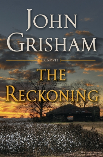 "This cover image released by Doubleday shows ""The Reckoning,"" a novel by John Grisham. (Doubleday via AP)"
