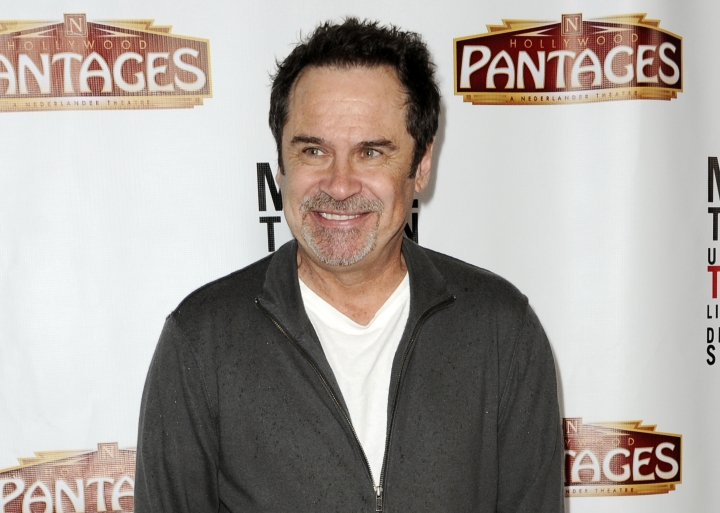 "FILE - In this March 8, 2013 file photo, comedian and former ""Saturday Night Live"" cast member Dennis Miller arrives at the premiere of ""Mike Tyson: Undisputed Truth"" in Los Angeles. Miller's new standup special, ""Fake News _ Real Jokes,"" debuts online Tuesday, Nov. 6. (Photo by Richard Shotwell/Invision/AP, File)"