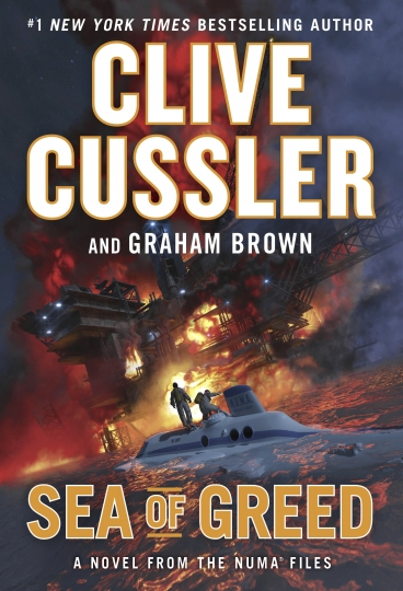 "This cover image released by G. P. Putnam's Sons shows ""Sea of Greed,"" by Clive Cussler and Graham Brown. (G. P. Putnam's Sons via AP)"