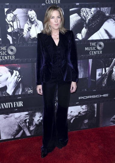 Diana Krall arrives at JONI 75: A Birthday Celebration on Wednesday, Nov. 7, 2018, at the Dorothy Chandler Pavilion in Los Angeles. (Photo by Richard Shotwell/Invision/AP)