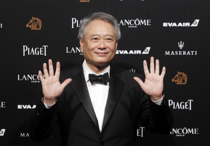 Taiwanese director Ang Lee poses on the red carpet at the 55th Golden Horse Awards in Taipei, Taiwan, Saturday, Nov. 17, 2018. Lee is the guest at this year's Golden Horse Awards, one of the Chinese-language film industry's biggest annual events. (AP Photo/Chiang Ying-ying)