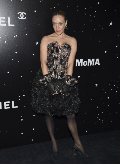 Actress Chloe Sevigny attends the Museum of Modern Art Film Benefit tribute to Martin Scorsese, presented by Chanel, on Monday, Nov. 19, 2018, in New York. (Photo by Evan Agostini/Invision/AP)