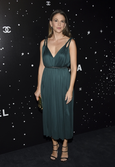 Actress Sutton Foster attends the Museum of Modern Art Film Benefit tribute to Martin Scorsese, presented by Chanel, on Monday, Nov. 19, 2018, in New York. (Photo by Evan Agostini/Invision/AP)