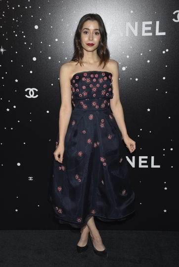 Actress Cristin Milioti attends the Museum of Modern Art Film Benefit tribute to Martin Scorsese, presented by Chanel, on Monday, Nov. 19, 2018, in New York. (Photo by Evan Agostini/Invision/AP)