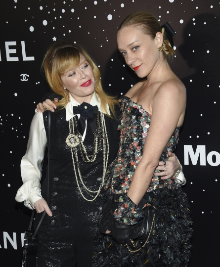 Actors Natasha Lyonne, left, and Chloe Sevigny attend the Museum of Modern Art Film Benefit tribute to Martin Scorsese, presented by Chanel, on Monday, Nov. 19, 2018, in New York. (Photo by Evan Agostini/Invision/AP)