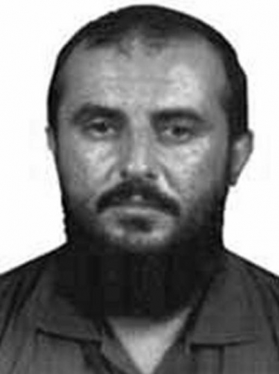 This photo provided by the FBI shows Jamal al-Badawi. An American military spokesman says a U.S. airstrike in Yemen targeted al-Badawi, an al-Qaida operative accused of involvement in the Oct. 12, 2000 attack on the USS Cole that killed 17 sailors. The spokesman, Navy Capt. William Urban at U.S. Central Command headquarters, said Friday, Jan. 4, 2019 that the Jan. 1 airstrike targeted Jamal al-Badawi. Urban said U.S. forces are attempting to confirm his death.(FBI via AP)