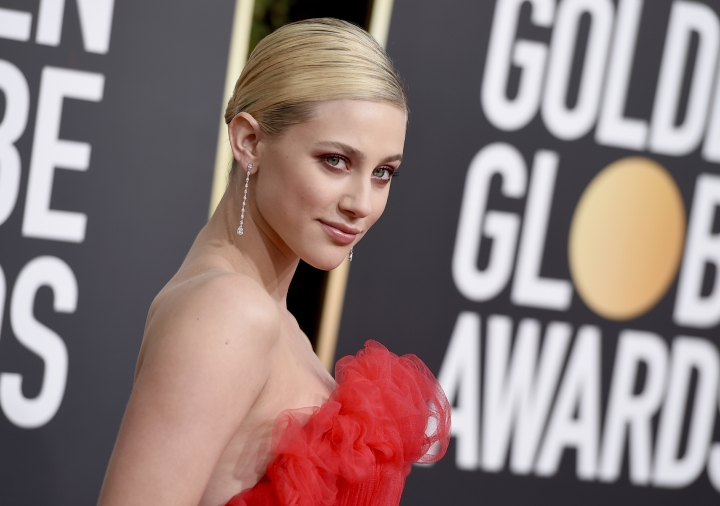 Lili Reinhart arrives at the 76th annual Golden Globe Awards at the Beverly Hilton Hotel on Sunday, Jan. 6, 2019, in Beverly Hills, Calif. (Photo by Jordan Strauss/Invision/AP)