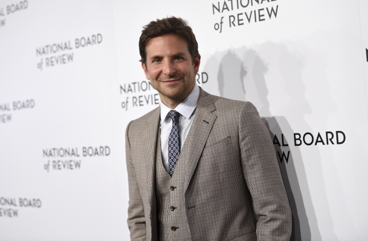 Bradley Cooper attends the National Board of Review Awards gala at Cipriani 42nd Street on Tuesday, Jan. 8, 2019, in New York. (Photo by Evan Agostini/Invision/AP)