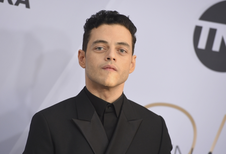 Rami Malek arrives at the 25th annual Screen Actors Guild Awards at the Shrine Auditorium & Expo Hall on Sunday, Jan. 27, 2019, in Los Angeles. (Photo by Jordan Strauss/Invision/AP)