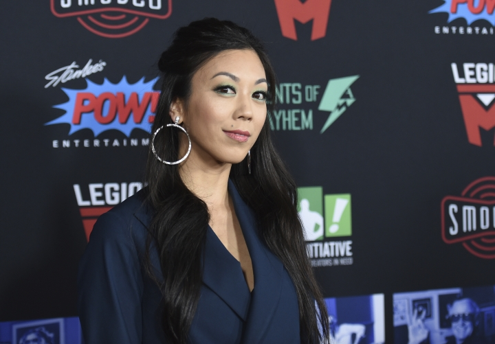 Brittany Ishibashi arrives at Excelsior! A Celebration of the Amazing, Fantastic, Incredible & Uncanny Life of Stan Lee on Wednesday, Jan. 30, 2019, at the TCL Chinese Theatre in Los Angeles. (Photo by Richard Shotwell/Invision/AP)