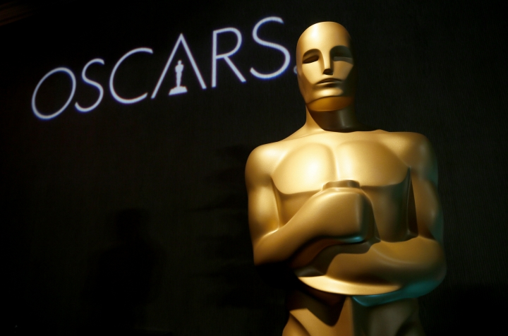 "FILE - In this Feb. 4, 2019 file photo, an Oscar statue appears at the 91st Academy Awards Nominees Luncheon in Beverly Hills, Calif. ABC's Entertainment President Karey Burke says this year's pre-Oscar ceremony disarray had an upside. Burke said the ""lack of clarity"" over the ceremony kept the Oscars in the public conversation. The biggest flap was over Kevin Hart's quick exit as host because of years-old homophobic tweets that he apologized for. That left the Oscars without a host as the Feb. 24 ceremony on ABC loomed, and producers finally decided to go without one. (Photo by Danny Moloshok/Invision/AP, File)"
