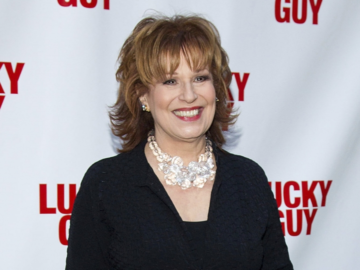 "FILE - In this April 1, 2013 file photo, TV personality Joy Behar arrives at the ""Lucky Guy"" Opening Night in New York. A 2016 video clip has surfaced online of ""The View"" co-host showing an old photo of herself as a ""beautiful African woman."" She displayed a photo of herself with curly hair when she was 29 years old. She said the hair was her own and had dressed as a ""beautiful African woman"" at a Halloween party. (Photo by Dario Cantatore/Invision/AP, File)"