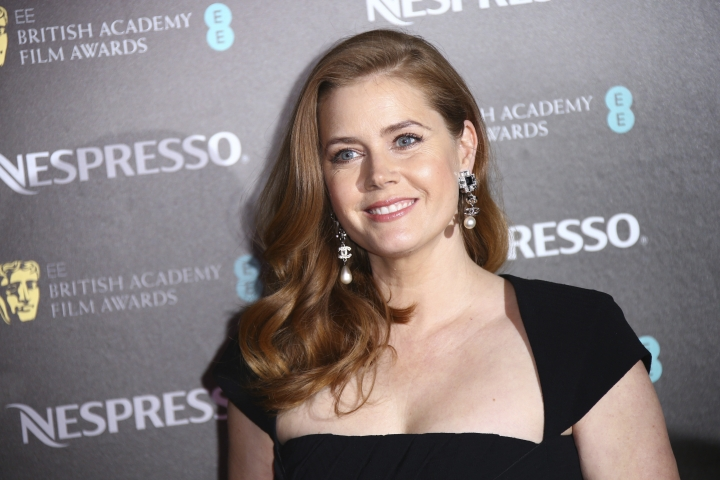 Actress Amy Adams poses for photographers upon arrival at the BAFTA Nominees Party in London, Saturday, Feb. 9, 2019. (Photo by Joel C Ryan/Invision/AP)