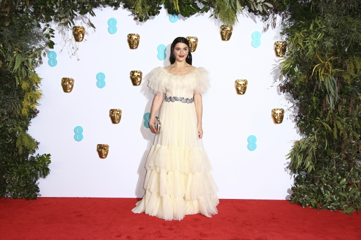Actress Rachel Weisz poses for photographers upon arrival at the BAFTA awards in London, Sunday, Feb. 10, 2019. (Photo by Joel C Ryan/Invision/AP)