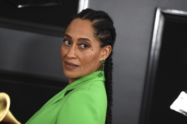 Tracee Ellis Ross arrives at the 61st annual Grammy Awards at the Staples Center on Sunday, Feb. 10, 2019, in Los Angeles. (Photo by Jordan Strauss/Invision/AP)