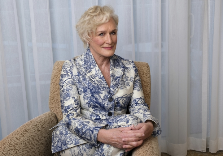 """This Feb. 4, 2019 photo shows Glenn Close posing for a portrait at the 91st Academy Awards Nominees Luncheon in Beverly Hills, Calif. Close is nominated for an Oscar for best actress for her role in """"The Wife."""" (Photo by Chris Pizzello/Invision/AP)"""