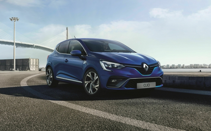 This undated picture provided by the Renault car manufacturer shows a Renault Clio car. The new Renault Clio will be presented at the 'Geneva International Motor Show' which takes place in Geneva, Switzerland, from March 7 until March 17, 2019. Automakers are rolling out new electric and hybrid models at the show as they get ready to meet tougher emissions requirements in Europe - while not forgetting the profitable and popular SUVs and SUV-like crossovers. (Renault via AP)