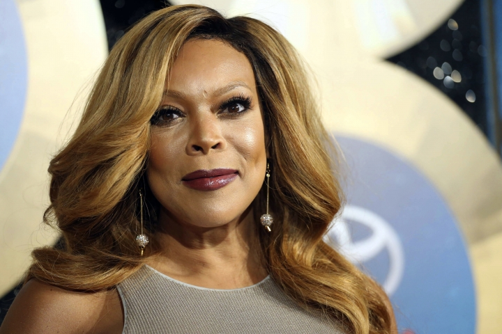 FILE - In this Nov. 7, 2014, file photo, TV talk show host Wendy Williams arrives during the 2014 Soul Train Awards in Las Vegas. Williams talked about her health and marriage Monday, March 4, 2019 as she returned to her talk show for the first time since December. (Photo by Omar Vega/Invision/AP, File)