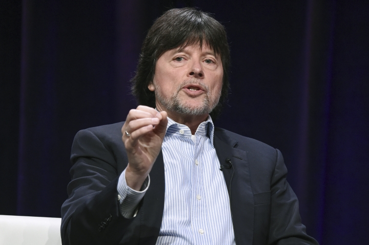 "FILE - In this July 30, 2017 file photo, Ken Burns participates in the ""The Vietnam War"" panel during the PBS portion of the 2017 Summer TCA's in Beverly Hills, Calif. The Library of Congress will begin presenting an award named for Burns, who elevated the craft of historical documentaries. Officials announced on Tuesday, March5, 2019, the creation of the Library of Congress Lavine/Ken Burns Prize for Film. The annual award will recognize a filmmaker whose documentary uses original research and compelling narrative to tell stories about American history. The winner will receive a $200,000 grant to help with the final production of the film. (Photo by Richard Shotwell/Invision/AP, File)"