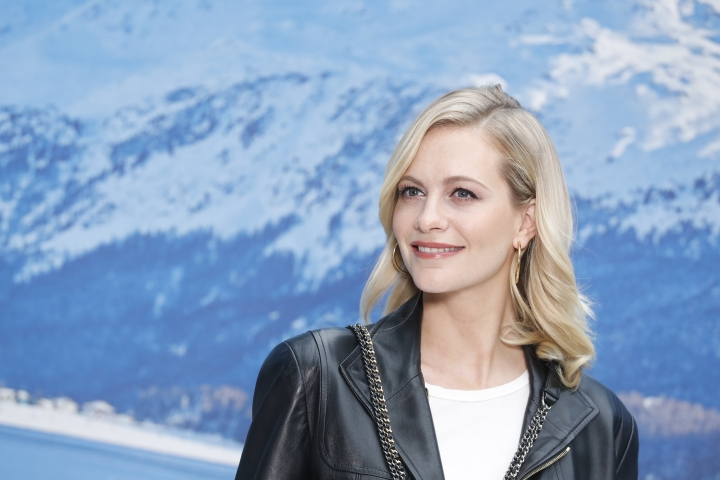 Model Poppy Delevingne poses for photographers upon arrival at the Chanel ready to wear Fall-Winter 2019-2020 collection, that was presented in Paris, Tuesday, March 5, 2019. (AP Photo/Thibault Camus)