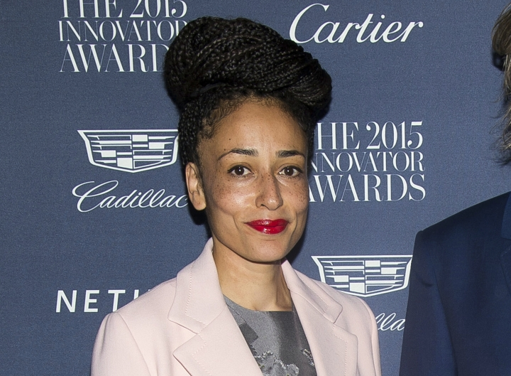 "FILE - This Nov. 4, 2015 file photo shows Zadie Smith at the WSJ Magazine Innovator Awards in New York. Smith won the the National Book Critics Circle criticism prize for her essay collection ""Feel Free."" (Photo by Charles Sykes/Invision/AP, File)"