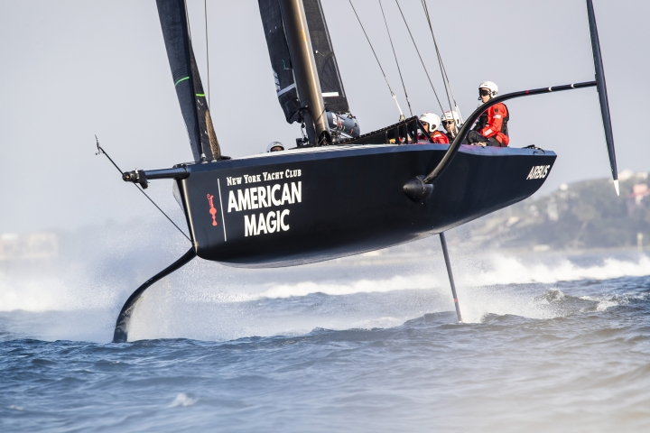 Mule a speedy workhorse for American Magic sailing crew - Spotify News