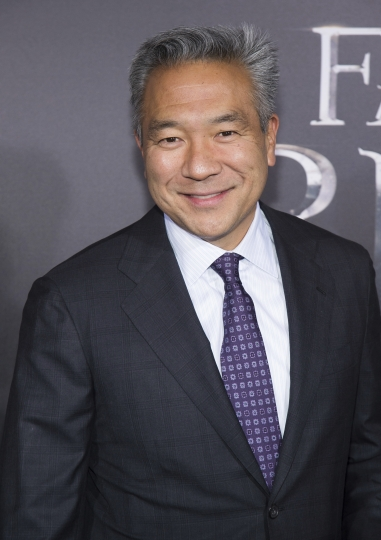 "FILE - This Nov. 10, 2016 file photo shows Kevin Tsujihara at the world premiere of ""Fantastic Beasts and Where To Find Them"" in New York. Tsujihara is stepping down after claims that he promised acting roles in exchange for sex. As Warner Bros. chairman and chief executive officer at one of Hollywood's most powerful and prestigious studios, Tsujihara is one of the highest ranking executives to be felled by sexual misconduct allegations. (Photo by Charles Sykes/Invision/AP, File)"