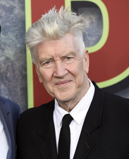 """FILE - This May 19, 2017 file photo, David Lynch, co-creator, director and executive producer of """"Twin Peaks,"""" appears at the premiere of the Showtime series in Los Angeles. The """"Blue Velvet"""" director has joined the MasterClass faculty with an online class about creativity and filmmaking. He outlines the process for """"catching ideas"""", the importance of daydreaming and setting """"bait"""" for creative ideas. (Photo by Chris Pizzello/Invision/AP, File)"""