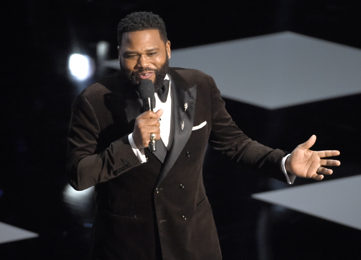 Host Anthony Anderson speaks at the 50th annual NAACP Image Awards on Saturday, March 30, 2019, at the Dolby Theatre in Los Angeles. (Photo by Chris Pizzello/Invision/AP)