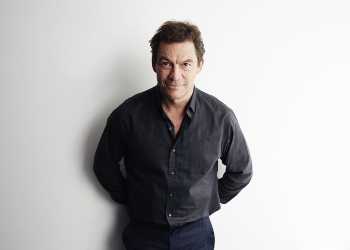 "This April 8, 2019 photo show actors Dominic West posing for a portrait in New York to promote his PBS mini-series ""Les Miserables,"" premiering on Sunday. (Photo by Taylor Jewell/Invision/AP)"