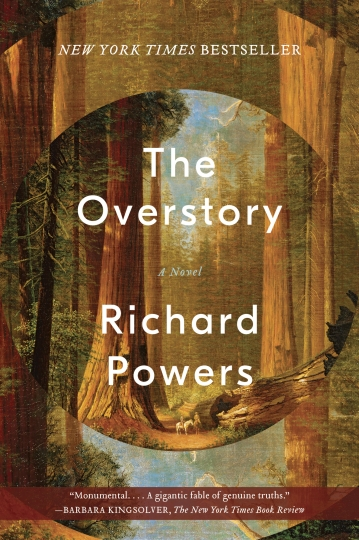 "This cover image released by W. W. Norton & Company shows ""The Overstory,"" a novel by Richard Powers, winner of the Pulitzer Prize for Fiction. (W. W. Norton & Company via AP)"
