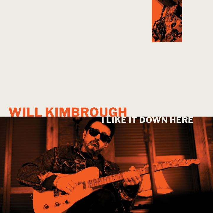 "This cover image released by Soundly Music shows ""I Like It Down Here,"" a release by Will Kimbrough. (Soundly Music via AP)"