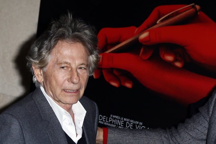 "FILE - In this Oct. 30, 3017 file photo director Roman Polanski poses a photo prior to the screening of ""Based on a true story"" in Paris, France. Roman Polanski is asking a judge to restore his membership in the Academy of Motion Picture Arts and Sciences after he was expelled for misconduct last year. Lawyers for the 85-year-old director filed documents Friday, April 19, 2019 requesting that a court compel the academy to make him a member in good standing again. (AP Photo/Francois Mori, File)"