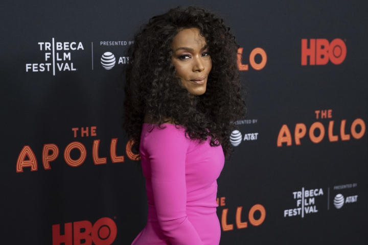 """Angela Bassett attends the screening for """"The Apollo"""" during the 2019 Tribeca Film Festival at the Apollo Theater on Wednesday, April 24, 2019, in New York. (Photo by Charles Sykes/Invision/AP)"""