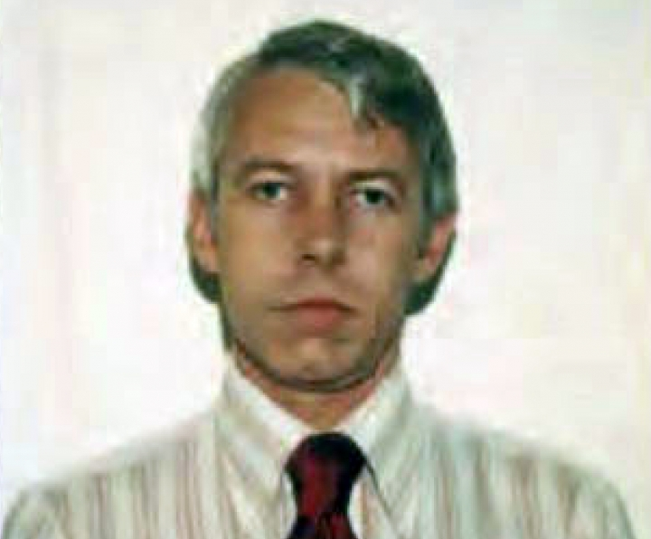 FILE – This undated file photo shows a photo of Dr. Richard Strauss, an Ohio State University team doctor employed by the school from 1978 until his 1998 retirement. Ohio State University wants to publicly share information about a confidential 1996 State Medical Board investigation involving Strauss, a team doctor now accused of decades-old sexual misconduct against more than 150 former students. The university on Wednesday, May 1, 2019, asked a judge for permission to make that information public in an upcoming report by a law firm investigating the men's allegations about Richard Strauss for the school. Strauss killed himself in 2005. (Ohio State University via AP, File)