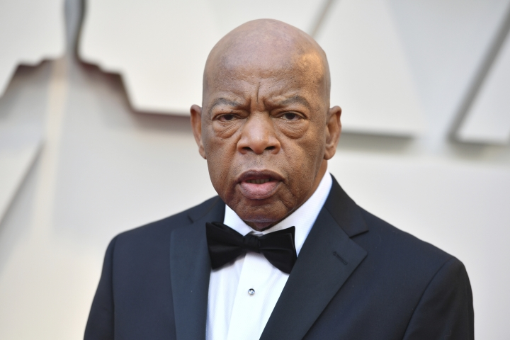"FILE - This Feb. 24, 2019 file photo shows Rep. John Lewis, D-Ga at the Oscars in Los Angeles. CNN Films is developing a documentary on civil rights icon and Georgia congressman John Robert Lewis. The network announced Wednesday, May 8, that ""Gideon's Army"" director Dawn Porter is helming the project. She began shooting the 79-year-old Lewis last year ahead of the midterm elections. (Photo by Jordan Strauss/Invision/AP, File)"