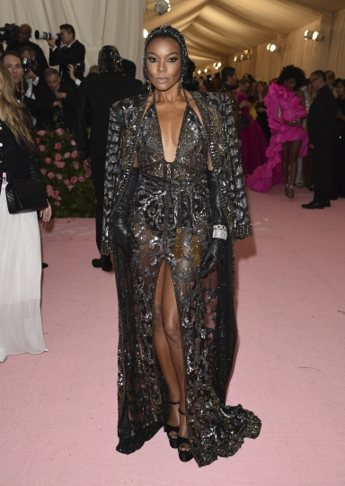 "Gabrielle Union attends The Metropolitan Museum of Art's Costume Institute benefit gala celebrating the opening of the ""Camp: Notes on Fashion"" exhibition on Monday, May 6, 2019, in New York. (Photo by Evan Agostini/Invision/AP)"