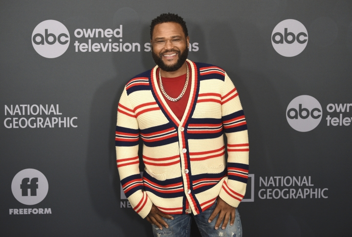 Anthony Anderson attends the Walt Disney Television 2019 upfront at Tavern on The Green on Tuesday, May 14, 2019, in New York. (Photo by Evan Agostini/Invision/AP)