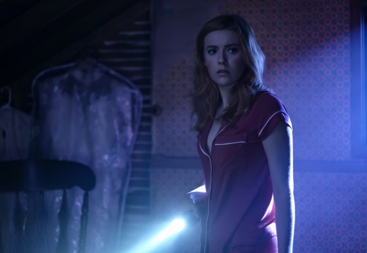 """This image released by The CW shows Kennedy McMann as Nancy Drew in a scene from the upcoming series """"Nancy Drew,"""" premiering in the fall. (Robert Falconer/The CW via AP)"""