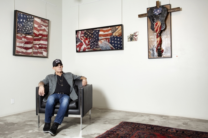 Bernie Taupin poses for a portrait at Galerie Michael in Beverly Hills, Calif., Wednesday, June 5, 2019. (Photo by Rebecca Cabage/Invision/AP)