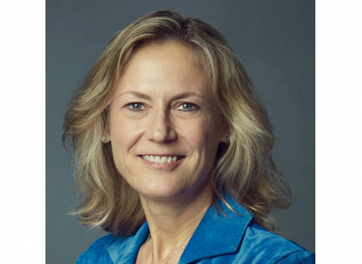 This undated image released by WarnerMedia shows BBC executive Ann Sarnoff who was named CEO of of WarnerMedia. Sarnoff replaces former studio chief Kevin Tsujihara, who departed in March over misconduct allegations. She is the first woman to lead the 96-year-old Warner Bros. company. (WarnerMedia via AP)