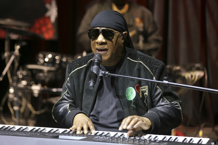 "FILE - In this Tuesday, Nov. 27, 2018 file photo, Stevie Wonder performs live at the ""House Full of Toys 22nd Annual Benefit Concert"" press conference in Los Angeles. Wonder says he will be receiving a kidney transplant this fall. The 69-year-old music legend made the announcement to concertgoers in England on Saturday, July 6, 2019. (Photo by Willy Sanjuan/Invision/AP, File)"
