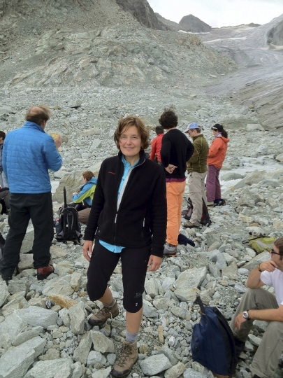 """In this undated photo provided by her family, showing American 59-year-old molecular biologist Suzanne Eaton. A state coroner on Wednesday, July 10, 2019, on the Greek island of Crete says that the body of a woman believed to be the missing American scientist had died as a result of a """"criminal act"""" although her identity still has to be confirmed, after Eaton was reported missing last week. (AP Photo)"""