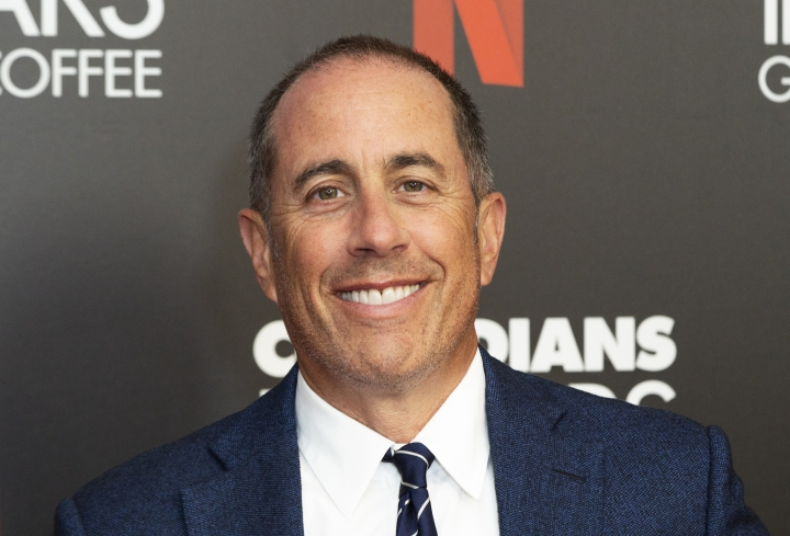"""Jerry Seinfeld attends the """"Comedians In Cars Getting Coffee,"""" photo call at The Paley Center for Media, Wednesday, July 17, 2019, in Beverly Hills, Calif. (Photo by Willy Sanjuan/Invision/AP)"""