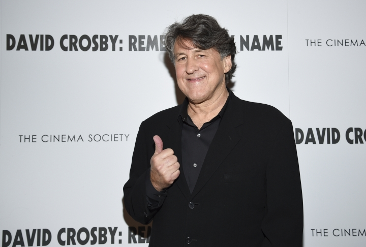 "Producer Cameron Crowe attends a special screening of ""David Crosby: Remember My Name,"" hosted by Sony Pictures Classics and The Cinema Society, at The Roxy Cinema, Tuesday, July 16, 2019, in New York. (Photo by Evan Agostini/Invision/AP)"