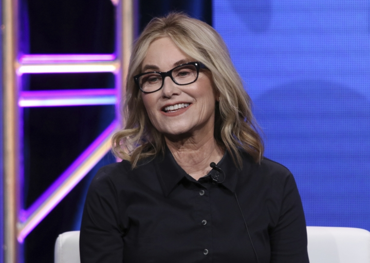 """Member of """"The Brady Bunch,"""" cast Maureen McCormick participates in HGTV's """"A Very Brady Renovation"""" panel at the Television Critics Association Summer Press Tour on Thursday, July 25, 2019, in Beverly Hills, Calif. (Photo by Willy Sanjuan/Invision/AP)"""