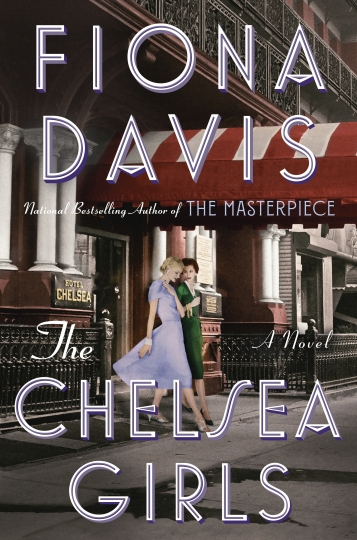 "This book cover image released by Dutton shows ""The Chelsea Girls,"" a novel by Fiona Davis. (Dutton via AP)"